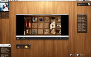 Customized desktop by katsu3477