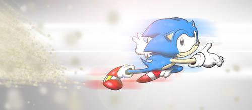 sonic the hedgehog-eat my dust by chukadrawer