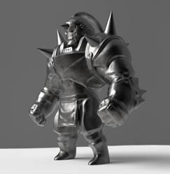 WIP - Alphonse Figurine by chemb0t