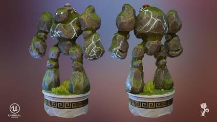 Golem rock guard I by ExPir