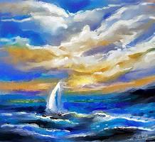Rough Seas by happytimer