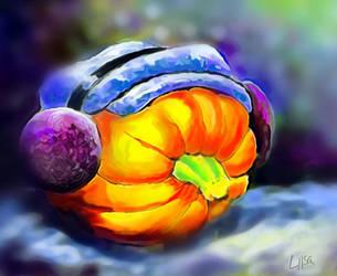 Cold Pumpkin by happytimer