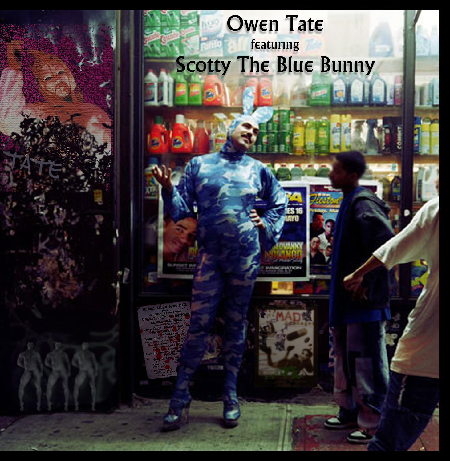 The Blue Bunny and Owen Tate by dickjohnson