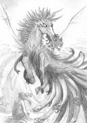 Dark Pegasus by K-Zet