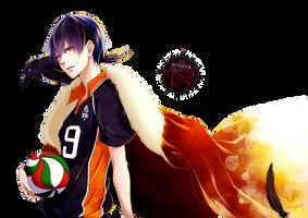 [Render] Kageyama Tobio by Araki96Neko
