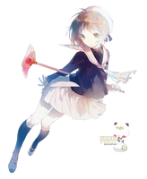[Render] Sakura Kinomoto by Araki96Neko