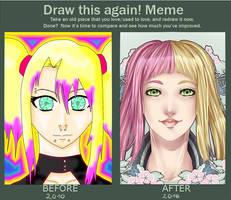 Draw This Again - Kouhone by LunaLunett