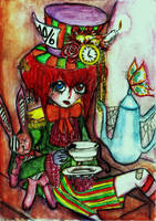 A Mad Tea-Party by GothiLalita