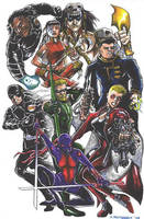 Justice League Elite by olybear