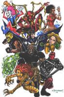Avengers Resistance by olybear