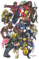 New Avengers by olybear