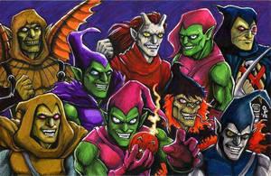 Nine Goblins by olybear
