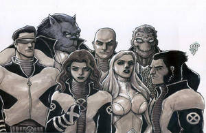 X-Men, Circa 2002 by olybear
