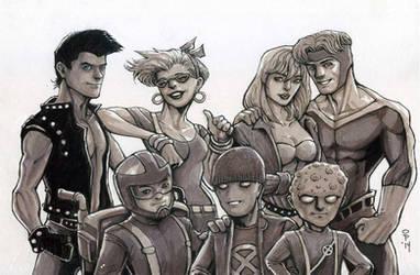 X-Terminators by olybear