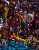X-Men Xmas '92 by olybear