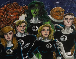 Fantastic Four by olybear
