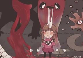satan is reaching for my lifeless corpse by lemonlotte