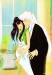 Inuyasha and Kagome: Bliss by Nichii