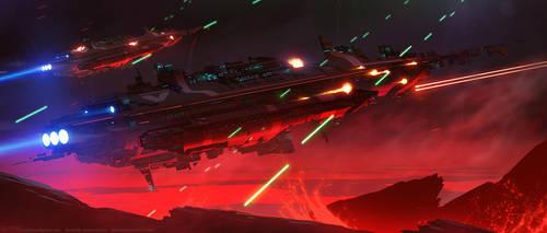 Ambush on Vulca 9 by Balaskas