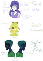 Creepypasta Family by Nightshinee