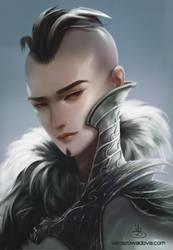Young Emperor - Digital Speedpaint by VeraZowa