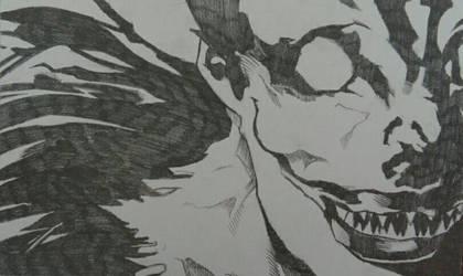 Death Note - Ryuk by radioactiveapple17