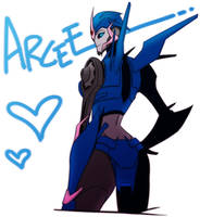 transformers prime arcee by Quere