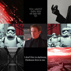General Hux Moodboard by Maune1998