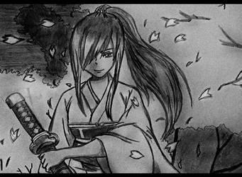 Erza Scarlet V2 - Fairy Tail by xDome