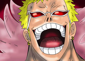 Donquijote Doflamingo by xDome
