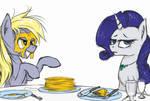 Pancake Monster attacks by MadHotaru
