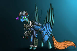 High-altitude weather reconnaissance by MadHotaru
