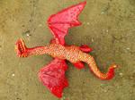 Red Desert Dragon by MsMergus