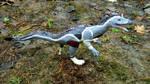Cryolophosaurus Sculpture II by MsMergus