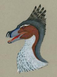 Acheroraptor Portrait by MsMergus