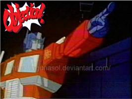 Optimus Objection by lagunasol