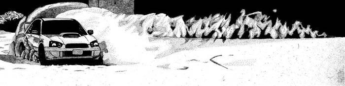 STi Drift: Snow by JasonWither