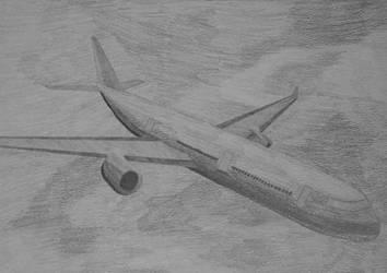 Airplane by cryingpain