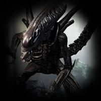 Aliens vs. Predator 3 - Alien by darkcyberxeno