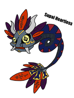 Supai Heartless - Recolored/Revised by KH-XIII