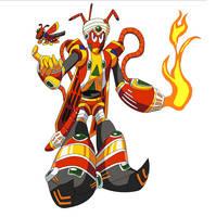 Flame Locust by CybershockSheep