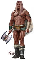 Barbarian by ICONGRAFX