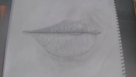 First Try Realistic Lips by DevilFlame1