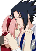 At last together coloured by Sango-chan098