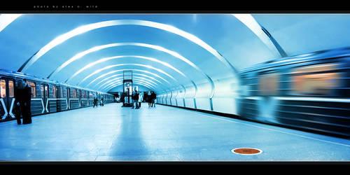 blue line by AlexWild