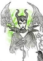 Maleficent by Gelodevs