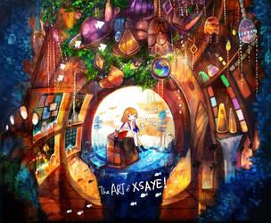 drown in wonder land by Xsaye