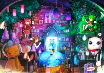 Fantasy Galaxy Comic Fiesta 2014 by Xsaye