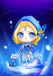 Crystal Maiden Arcana by Xsaye