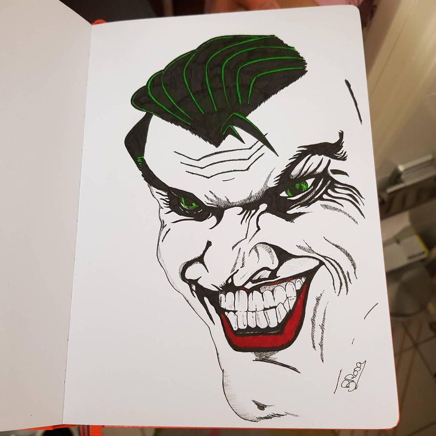 The Joker  by BRosa84